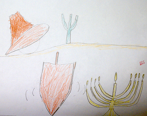 Mexican Hanukkah in the desert