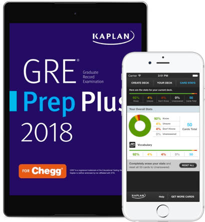 GRE Prep Plus eBook and Mobile App