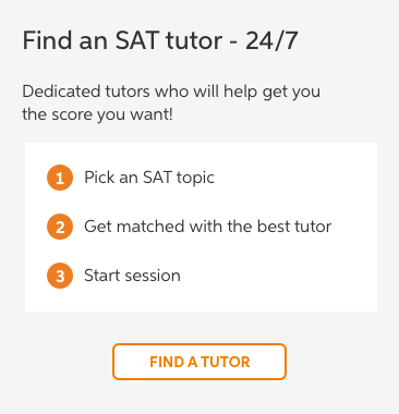 SAT General Study-tutor image